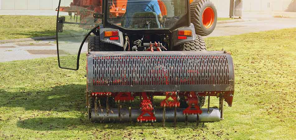 This core aerator is perfect for some of the larger properties found in the Troy community.